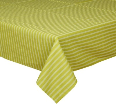 CPM HANDLOOM Green, Light Green Table Linen Set