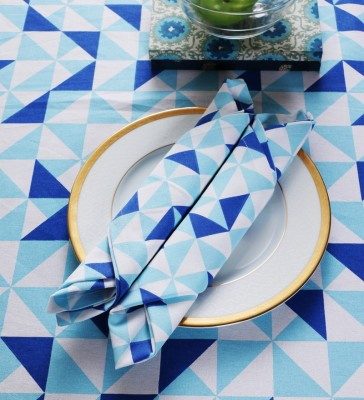 SWHF Blue Set of 4 Napkins