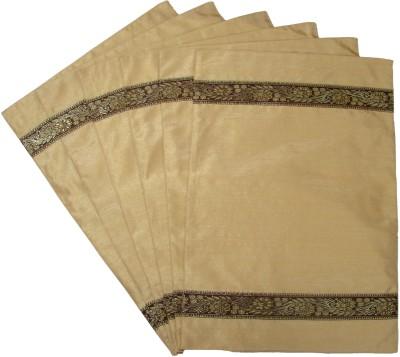 Home Shine Beige Polyester Table Linen Set