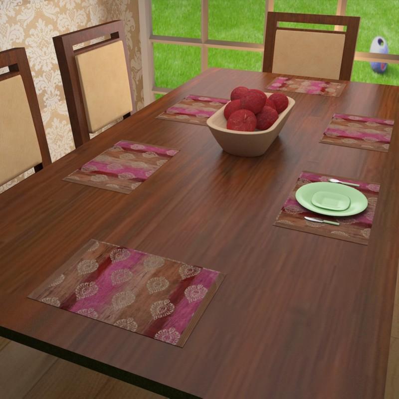 Khuranas Multicolor Table Linen Set(Pack of 1)