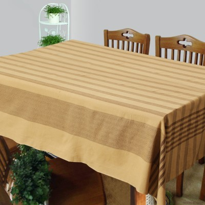 Dhrohar Striped 4 Seater Table Cover