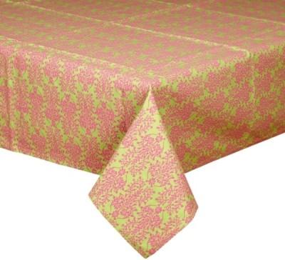 CPM HANDLOOM Green, Pink Table Linen Set