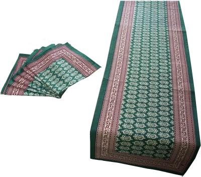 Craftuno Green Table Linen Set