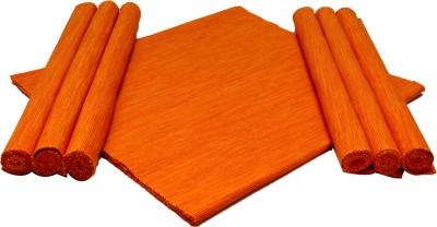 Home Colors Orange Organic Cotton Table Linen Set