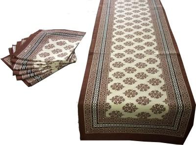 Craftuno Brown Table Linen Set