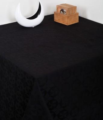 Insignia Black Linen Table Linen Set