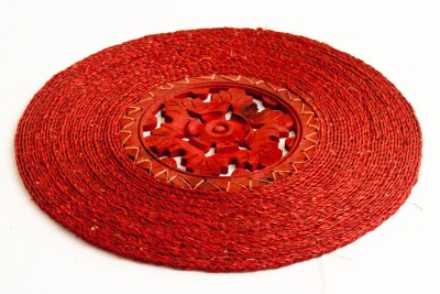 Rista Handicrafts Oval Pack of 1 Table Placemat