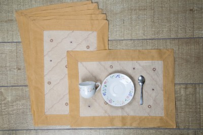 Ocean Home Store Rectangular Pack of 6 Table Placemat