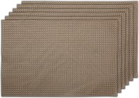 Winner Rectangular Pack of 1 Table Placemat(Beige, PVC)