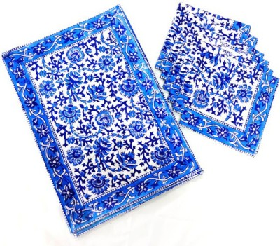 Kairan jaipur Rectangular Pack of 12 Table Placemat