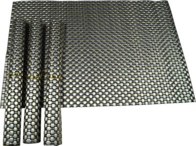 Manbhari Rectangular Pack of 4 Table Placemat