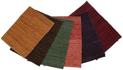 CPM HANDLOOM Rectangular Pack of 6 Table Placemat