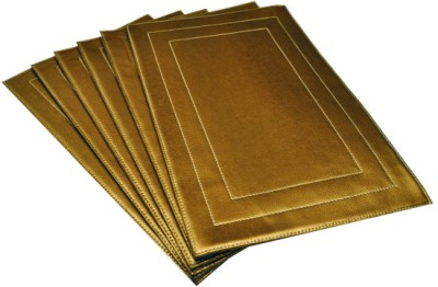 Dimensions Rectangular Pack of 6 Table Placemat