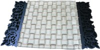 Dimensions PVC Medium Changing Mat Dimensions Laser Edged Koskin Leather Mats -Tredny Mexican Stitch(Multicolor)
