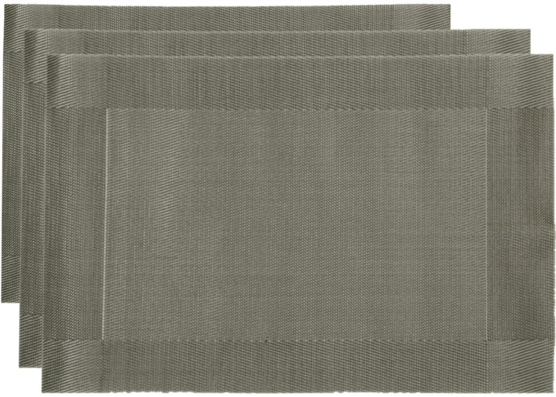 Chrome Table Placemat(Grey)
