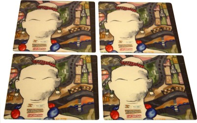 Ganges Art Gallery Square Pack of 2 Table Placemat