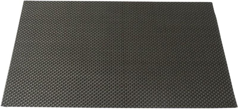 Decorika Rectangular Pack of 4 Table Placemat(Grey, Polyester, PVC)