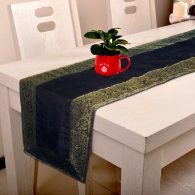 Indha Craft Black 182.9 cm Table Runner