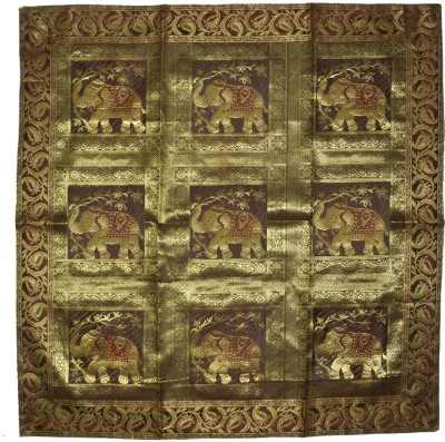 Lal Haveli Brown 96.52 cm Table Runner