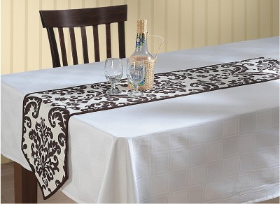 Swayam Brown, Grey 182.88 cm Table Runner