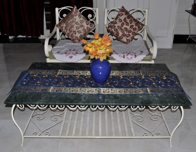 Lal Haveli Light Blue 152.4 cm Table Runner