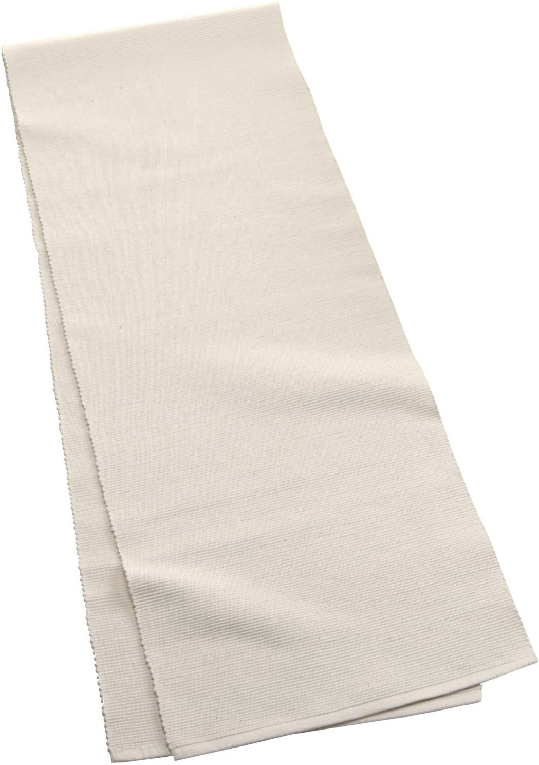 Dhrohar White 182 cm Table Runner(Cotton)