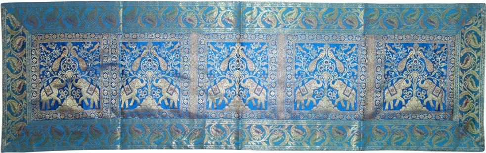 Lal Haveli Blue 40.64 cm Table Runner
