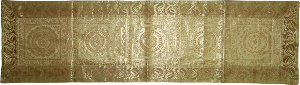 Lal Haveli Beige 40.64 cm Table Runner
