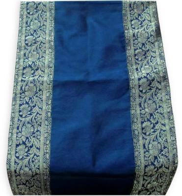 Indha Craft Blue 182.9 cm Table Runner