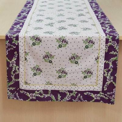 Elan Multicolor 150 cm Table Runner(Cotton)