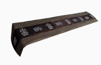 Indha Craft Multicolor 182.9 cm Table Runner