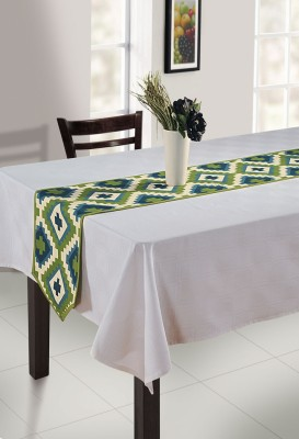 Swayam Brown, Green, Beige 182.88 cm Table Runner