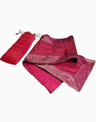 Indha Craft Pink 182.9 cm Table Runner