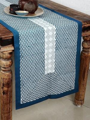 Myyra Blue 220 cm Table Runner