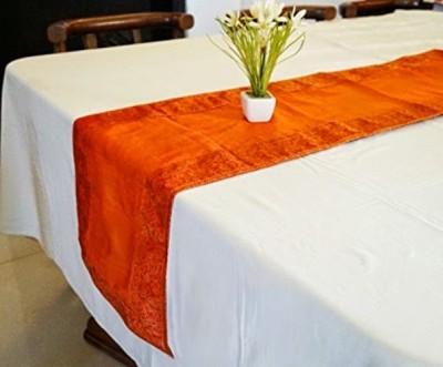 Indha Craft Orange 182.9 cm Table Runner
