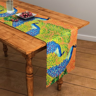 SEJ by Nisha Gupta Brown 120 cm Table Ru...