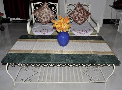 Lal Haveli White 152.4 cm Table Runner