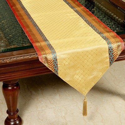Jodhaa Gold 51 cm Table Runner