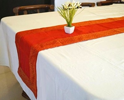 Indha Craft Red 182.9 cm Table Runner