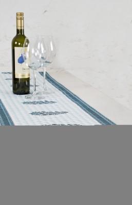 Ocean Home Store Blue 180 cm Table Runner