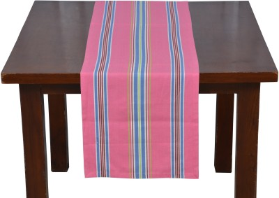 Home Boutique Pink 180 cm Table Runner