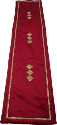 Home Shine Maroon 90 cm Table Runner