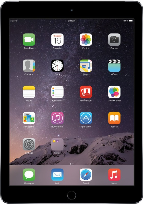 Apple iPad Air 2 128 GB with Wi-Fi Only(Space Grey)
