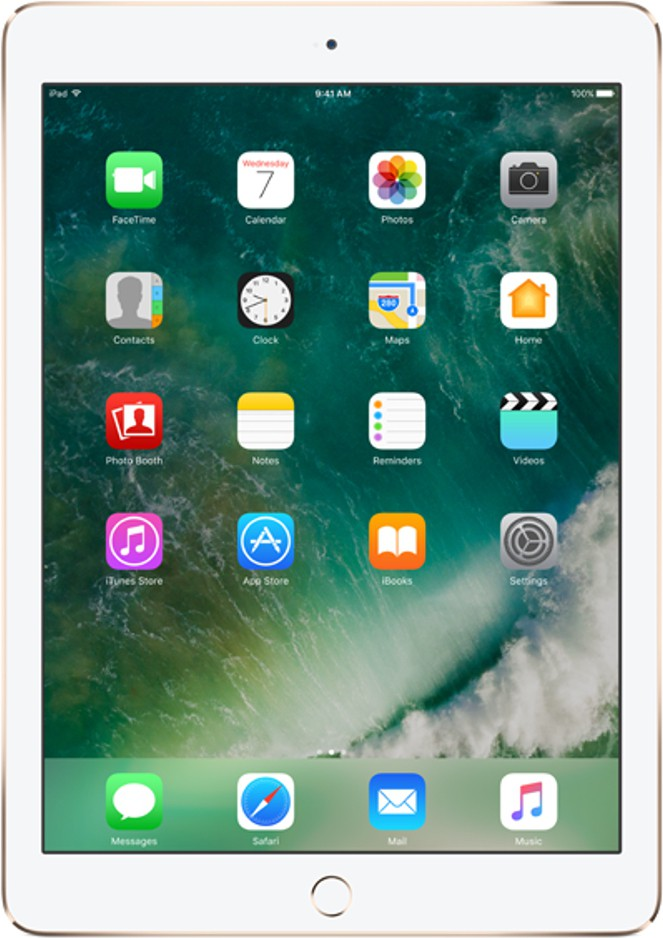 View Apple Air 2 32 GB 9.7 inch with Wi-Fi+4G(Gold) Tablet Note Price Online(Apple)