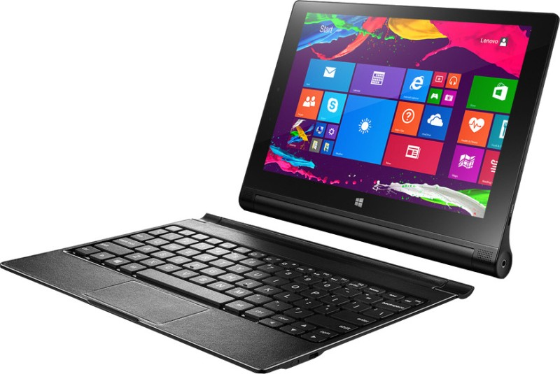 Lenovo Yoga 2 Windows Tablet 10.1 inch with Built-in Keyboard Yoga Tablet 2 10-inch Windows
