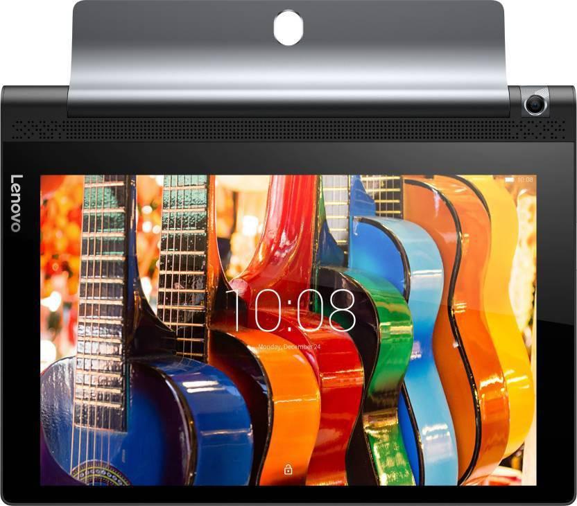View Lenovo Yoga Tab 3 10 16 GB 10.1 inch with Wi-Fi+4G(Slate Black) Tablet Note Price Online(Lenovo)