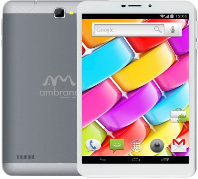Ambrane AQ880 8 GB 8 inch with Wi-Fi+3G
