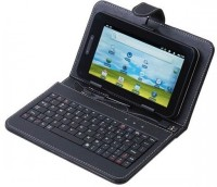 I Kall N2 with Keyboard 4 GB 7 inch with Wi-Fi+3G(Black)