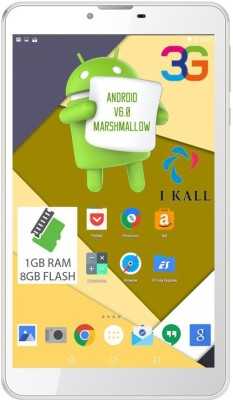 I Kall N9 8 GB 7 inch with Wi-Fi+3G(White)