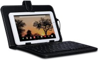 I Kall IK1 (1+4GB) Dual Sim Calling Tablet with Keyboard 4 GB 7 inch with Wi-Fi+3G(White)